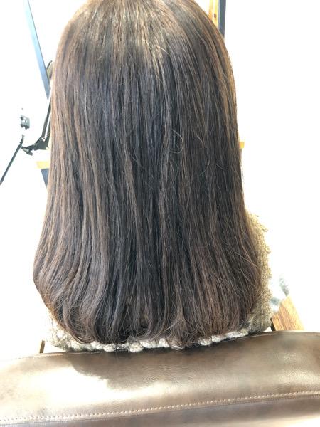 大分県別府市 癖で広がる髪の毛にはストカールが扱いやすくてオススメです! ビフォー