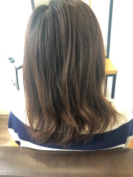 大分県別府市 パサつく、広がる髪の毛をオッジィオットトリートメントで収まりのいい髪の毛に
