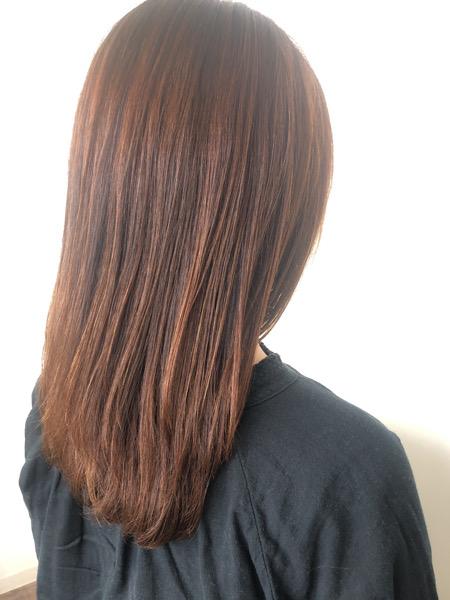 大分県別府市 ボリュームが出て広がる髪の毛をストカールでボリュームダウンして自然なワンカールに アフター