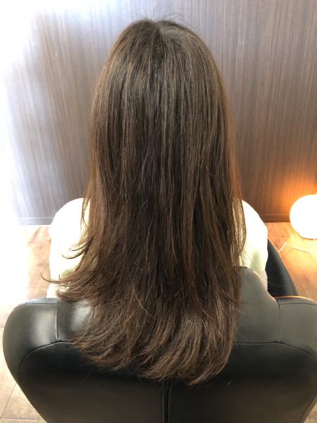 大分県別府市 髪の毛の広がり、パサつきが気になる方にもオッジィオットトリートメントは効果的です! ビフォー