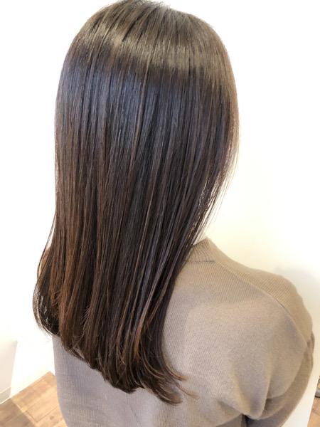 大分県別府市 ワンカールのストカールで上品なツヤ髪スタイル アフター