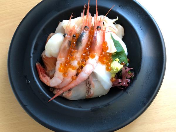 大分県別府市 北海道ダイニングハル 海鮮丼 テイクアウト