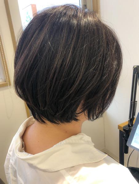 大分県別府市 コロナ自粛もあり美容室に行けず伸びた髪の毛をばっさりカット アフター