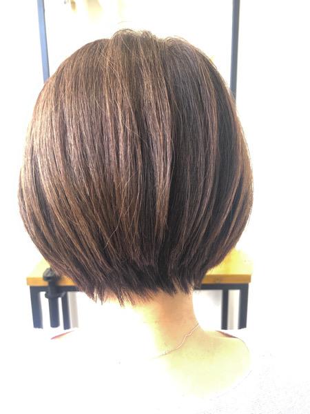 大分県別府市 定期的なカットで髪の毛のメンテナンス アフター