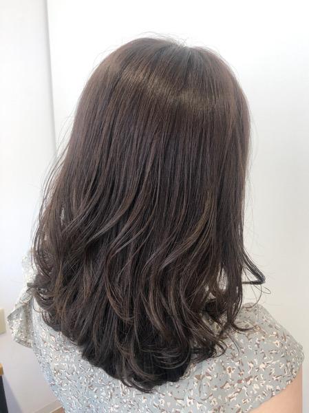 大分県別府市 oggiotto(オッジィオット)トリートメントで艶髪カラー!【透明感のあるベージュのヘアカラー】 アフター