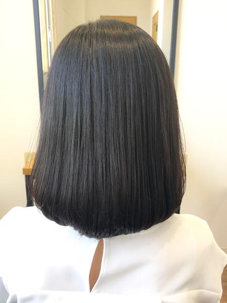 大分県別府市 くせ毛の悩みは艶髪ストカールで解決!ワンカールボブスタイル アフター