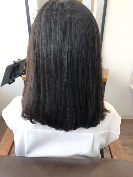 大分県別府市 くせ毛の悩みは艶髪ストカールで解決!ワンカールボブスタイル ビフォー