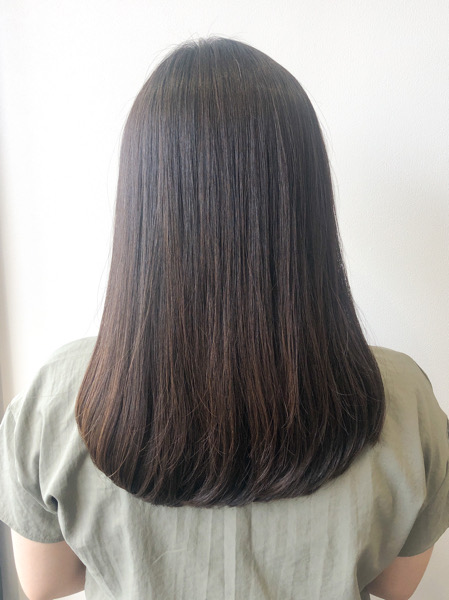 大分県別府市 くせ毛の悩みはお手入れ簡単なストカールで解決! アフター