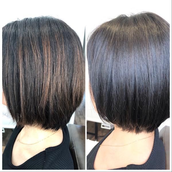 大分県別府市 綺麗なヘアスタイルを維持するには定期的なメンテナンスが大切です! ビフォーアフター