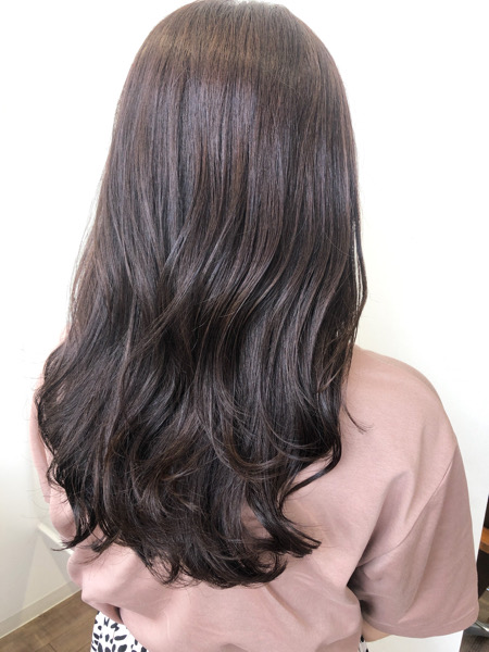 大分県別府市 ラベンダーアッシュの秋髪カラー【オッジィオット取り扱い】 アフター