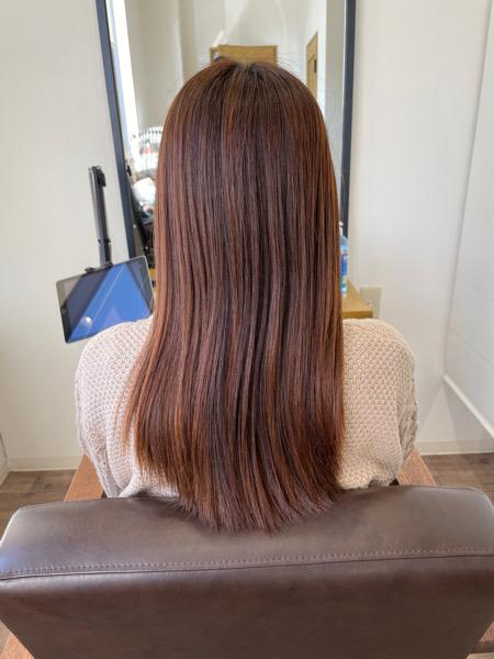 大分県別府市 冬に髪の毛の乾燥が気になる方はoggiotto(オッジィオット)トリートメントで潤いを ビフォー