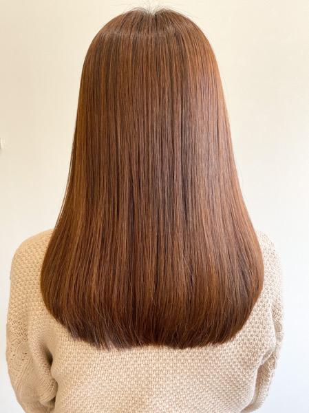 大分県別府市 冬に髪の毛の乾燥が気になる方はoggiotto(オッジィオット)トリートメントで潤いを アフター