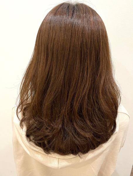 大分県別府市 弱酸性の縮毛矯正で柔らかくサラサラのストカール アフター