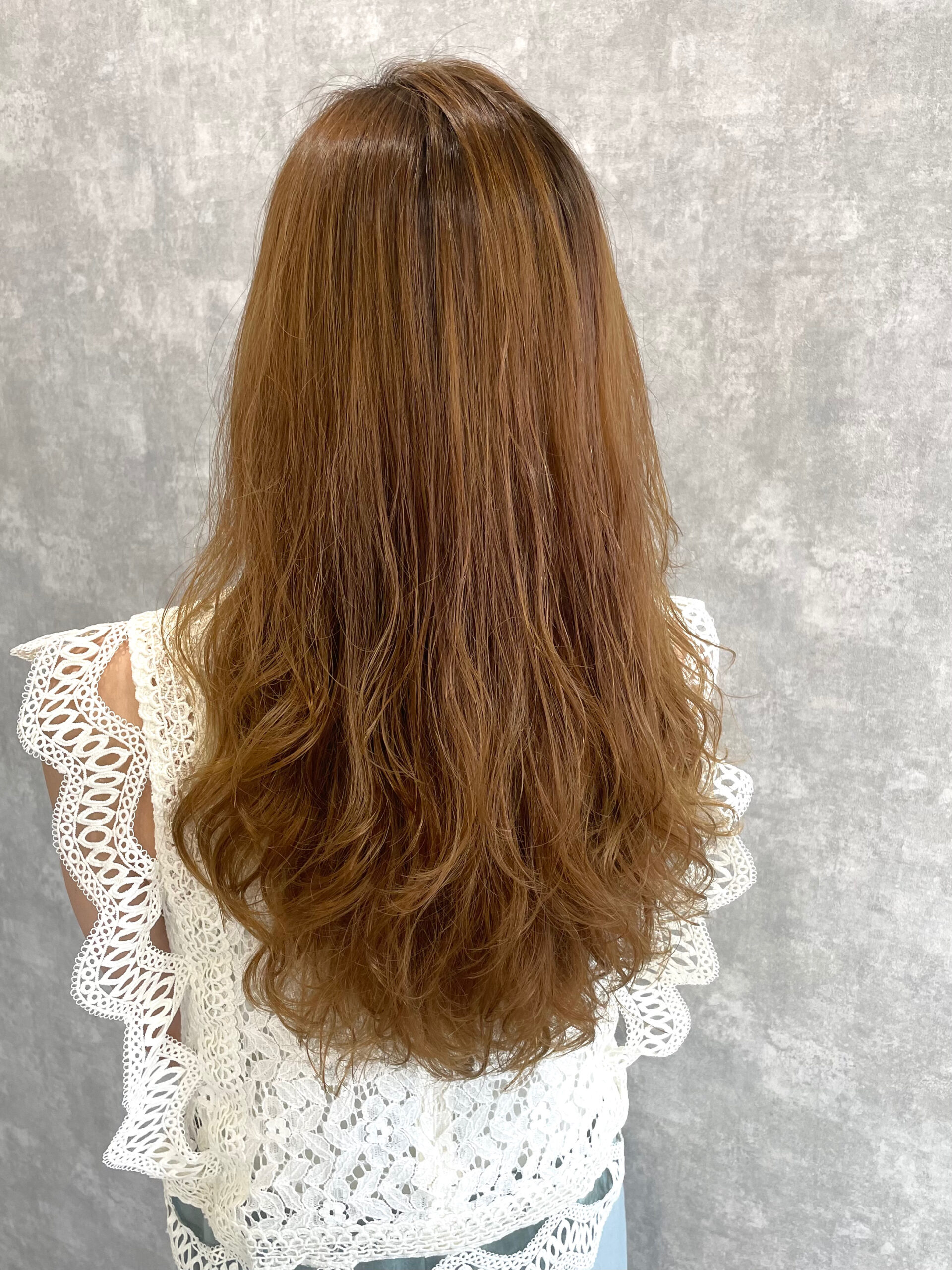 大分県別府市 ハイダメージの髪の毛でも柔らかい仕上がりのストカール アフター